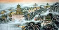 Chinese Buildings Pavilions Palaces Towers Terraces Paintings