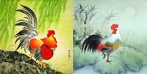 Chinese Chicken Paintings