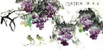 Chinese Grape Paintings