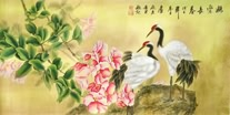 Chinese Crane Paintings
