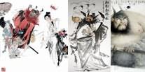 Chinese Zhong Kui Painting