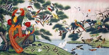 Lin Jing Chinese Painting 4622003