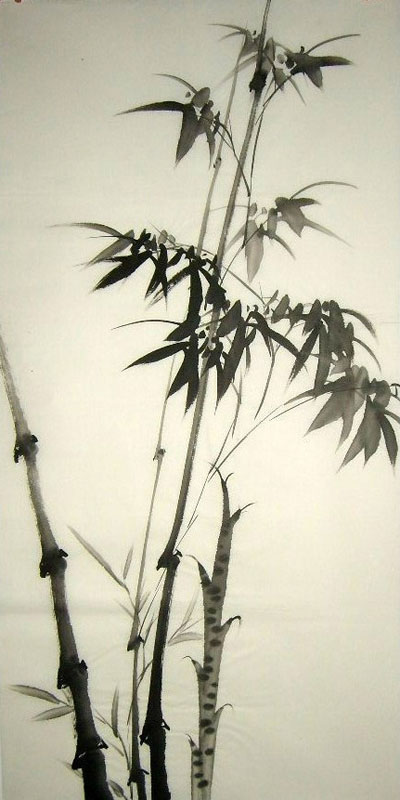 Chinese Bamboo Painting 2326044 50cm X 100cm 19 X 39