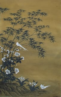 Chinese Bamboo Painting,60cm x 97cm,2358015-x