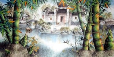 Zhou Zi Yi Chinese Painting 2515001