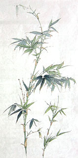 Chinese Bamboo Painting,50cm x 100cm,2574052-x