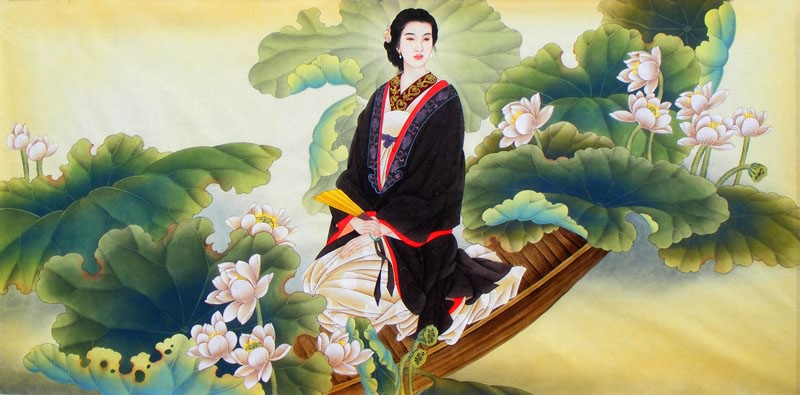 Image result for chinese paintings of women