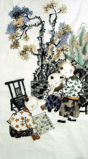 Zhou Si Qi Chinese Painting 3806002