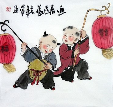 Xia Fang Jie Chinese Painting 3814002