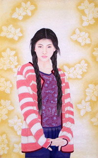 Chinese Contemporary Figures Painting,69cm x 138cm,3506015-x