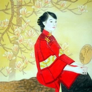 Chinese Contemporary Figures Painting,66cm x 66cm,3618003-x