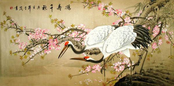 crane Asian symbolism culture