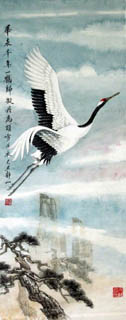 Jing Shan Chinese Painting 4700001