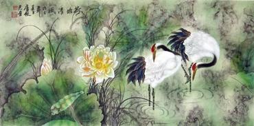 Lu Ye Guang Chinese Painting 4734090