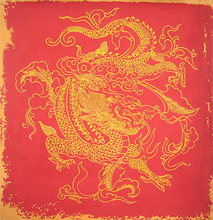 chinese dragon paintings china dragon art scrolls pictures images