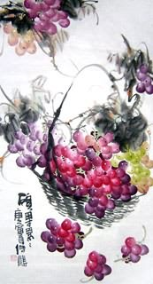 Chinese Grape Painting,50cm x 100cm,2469004-x