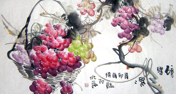 Grape,50cm x 100cm(19〃 x 39〃),2469005-z