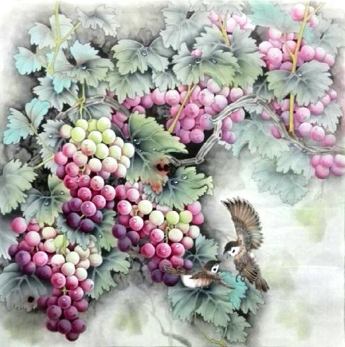 Grape,68cm x 68cm(27〃 x 27〃),2574035-z