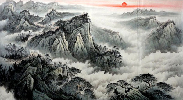 Great Wall,66cm x 136cm(26〃 x 53〃),1038004-z