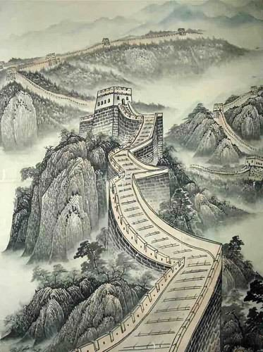 Great Wall,50cm x 33cm(19〃 x 13〃),1336001-z