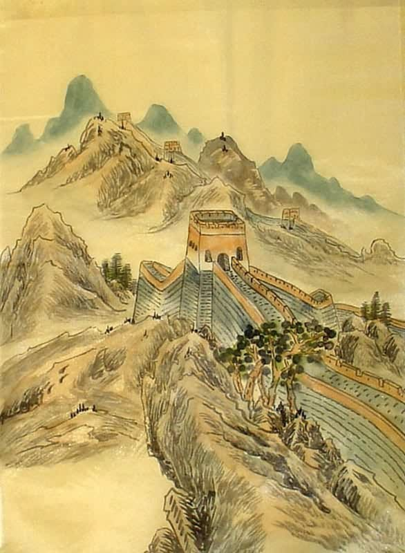 Chinese Great Wall Painting Great Wall 1336009 40cm X