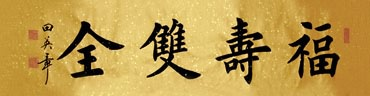 Chinese Health Calligraphy,34cm x 138cm,5901002-x