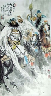 Chinese History & Folklore Painting,90cm x 180cm,3447013-x