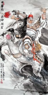 Chinese History & Folklore Painting,68cm x 136cm,3447033-x
