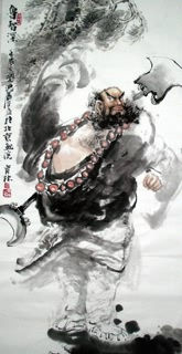 Chinese History & Folklore Painting,69cm x 138cm,3447035-x