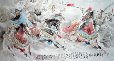 Chinese History & Folklore Painting,90cm x 180cm,3447038-x