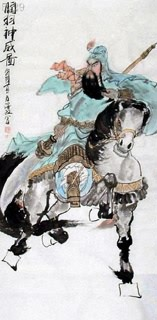 Chinese History & Folklore Painting,66cm x 136cm,3505014-x