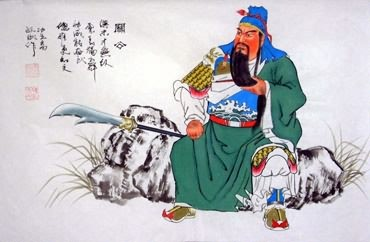 Chinese History & Folklore Painting,34cm x 69cm,3519066-x