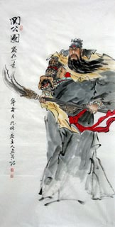 Chinese History & Folklore Painting,69cm x 138cm,3546045-x