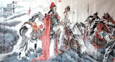 Chinese History & Folklore Painting,97cm x 180cm,3706002-x