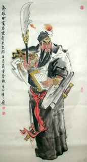 Chinese History & Folklore Painting,66cm x 136cm,3745015-x