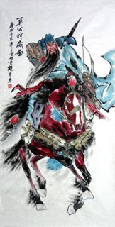 Chinese History & Folklore Painting,69cm x 138cm,3777013-x