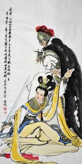 Chinese History & Folklore Painting,66cm x 136cm,3778011-x
