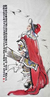 Chinese History & Folklore Painting,66cm x 136cm,3778012-x