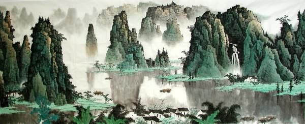 How to Hang Chinese Paintings? Framed, Mounted on Silk