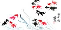 Chinese Goldfish Paintings