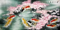 Chinese Koi Fish Paintings