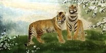 Chinese Tiger Paintings