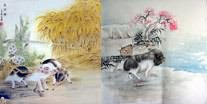 Chinese Pig Paintings