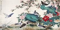 Chinese Pigeon Paintings