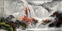 Chinese Waterfall Paintings
