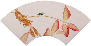 Chinese Insects Painting,34cm x 69cm,2340126-x