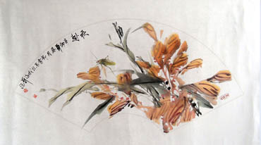 Chinese Insects Painting,43cm x 65cm,2573001-x