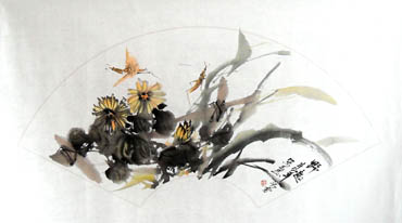 Chinese Insects Painting,43cm x 65cm,2573002-x