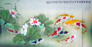 Zhou Dao Quan Chinese Painting 2078001
