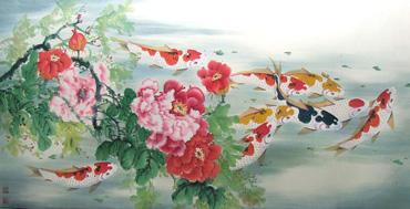 Zhou Dao Quan Chinese Painting 2078011